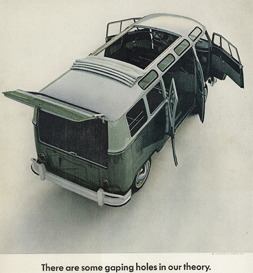 Volkswagen vintage add